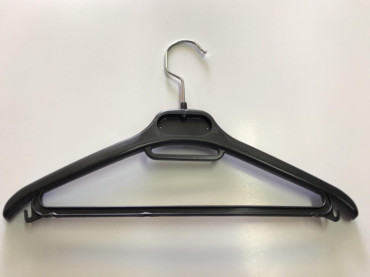 Вешалки, плечики тремпеля 32см для детской одежды с перекладиной жесткий металлический крючок