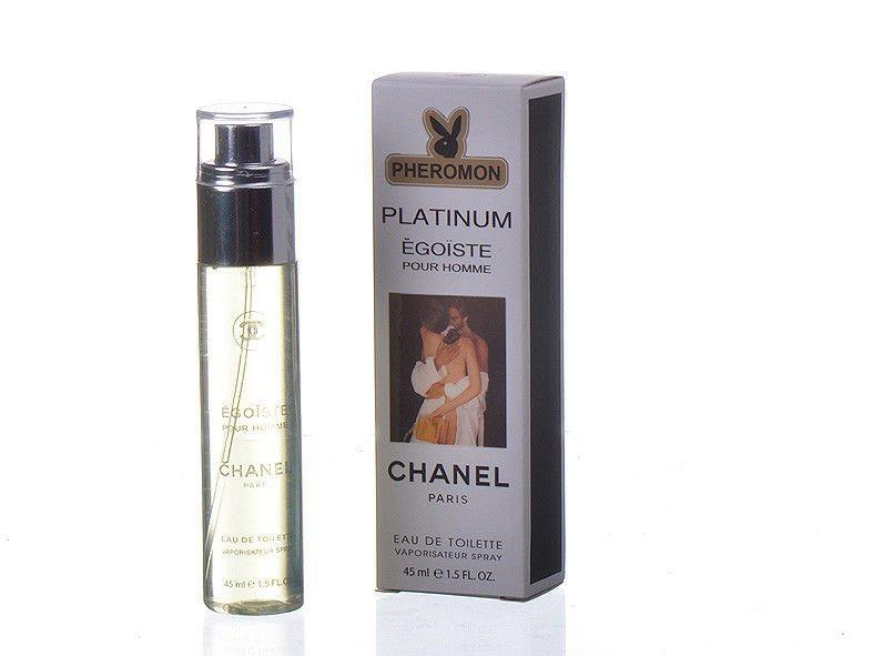Мини-парфюм мужской Chanel Egoiste Platinum pheromon 45 мл(реплика)