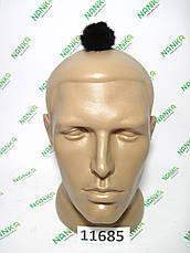 Меховой помпон Норка, Черный шоколад, 4 см, 11685, фото 2