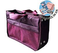 Органайзер для сумки ORGANIZE украинский аналог Bag in Bag (бордовый)