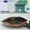 Шикарный кошелек 100 евро