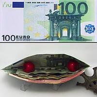 Шикарный кошелек 100 евро, фото 1
