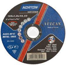 Круг відрізний Norton Vulcan Ø 125 x 1.0 x 22.23