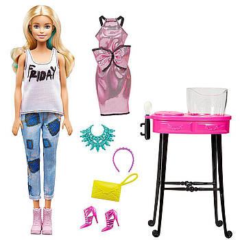 Лялька Барбі Стиль Змінює колір