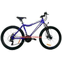 Горный велосипед Azimut Voltage 26 GD синий