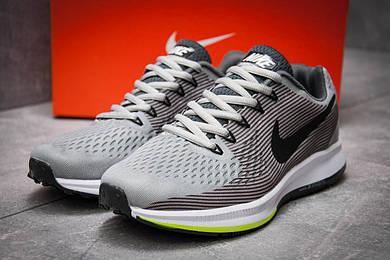 Кроссовки мужские Nike Zoom Pegasus 34, серые (12591),  [  40 (последняя пара)  ]