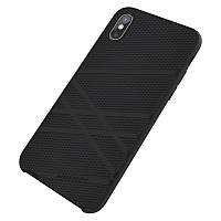 Чехол Nillkin Flex Liquid Case для iPhone X - Black, фото 1