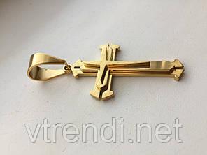 Крестик Steel Rage ( gold )