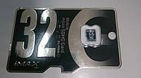 Карта памяти micro SD 32 GB iMAX, Class 10