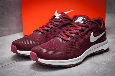 Кроссовки мужские Nike Zoom All Out 3, бордовые (12731),  [  42 (последняя пара)  ]