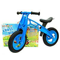 "Велобег 12"", EVA колеса СИНИЙ (Cross bike), 11-016СИН"