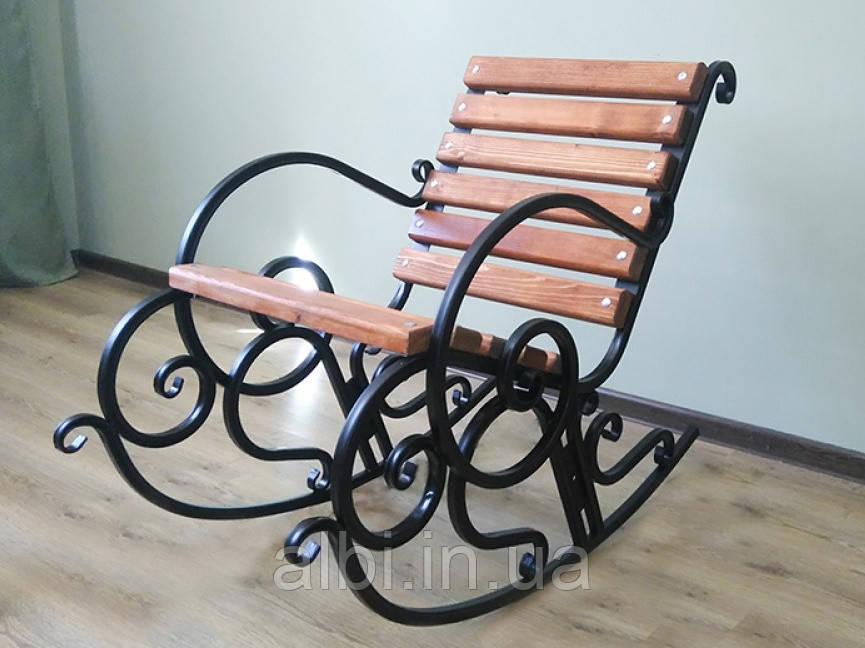 Кресло-качалка кованое 0,6м