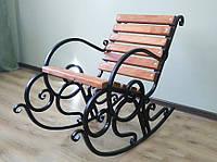 Кресло-качалка кованое 0,6м, фото 1