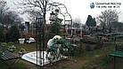 Памятник ребенку из белого мрамора в виде сердца, фото 6