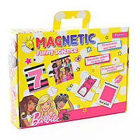 Пазл магнитный развивающий А4 Funny science Barbie 1