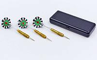 Дротики для игры в дартс цилиндрические 3100 в футляре: 3 дротика в комплекте , фото 1