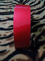 Лента светоотражающая красная