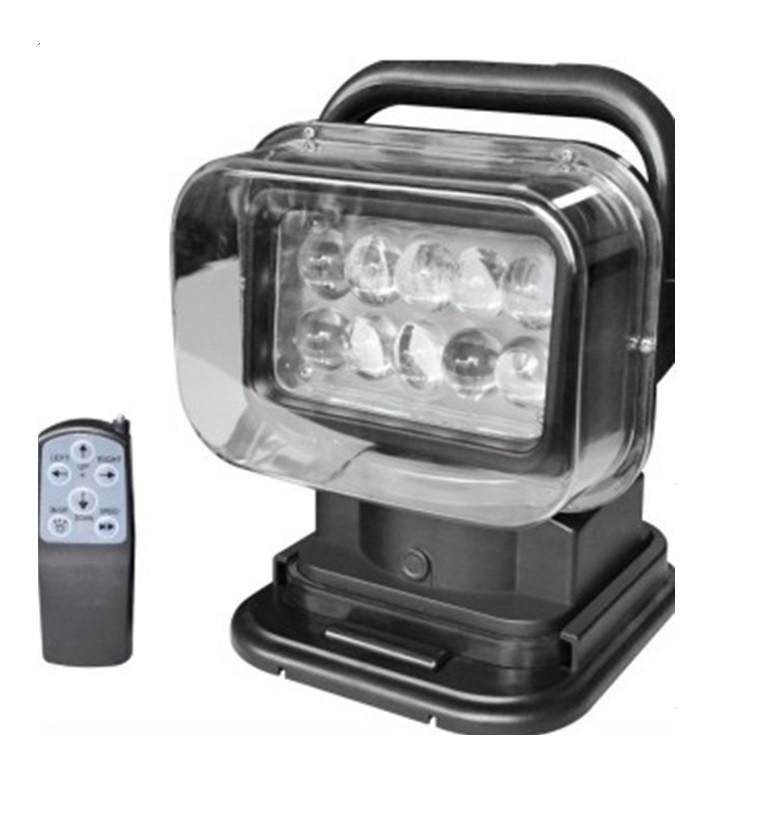 Прожектор для лодки, катера, яхты LED523 точечный черный 3200lm 50W