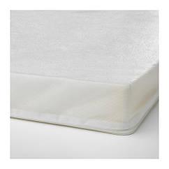 Пенистый матрац для детской раздвижной кроватки IKEA PLUTTEN 80x200 см 503.393.91