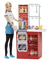 Кукла Барби Шеф Повар  (Barbie Spaghetti Chef Doll & Playset), фото 1