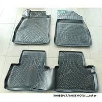 Полиуретановый автомобильный 3D коврик для Toyota LAND CRUISER Pradо 120 2002-2010