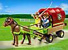 Playmobil 5228 Возик і поні (Плеймобил конструктор Повозка и пони), фото 2