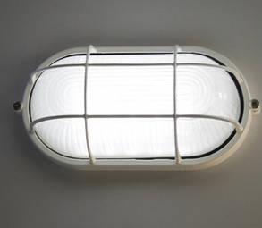 Светодиодный светильник для ЖКХ антивандальный 12V SL1402L 6W овал. белый IP54 Код.59239, фото 2