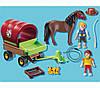 Playmobil 5228 Возик і поні (Плеймобил конструктор Повозка и пони), фото 3