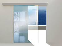Система для раздвижных стеклянных дверей HERKULES GLASS 100 кг без направляющих