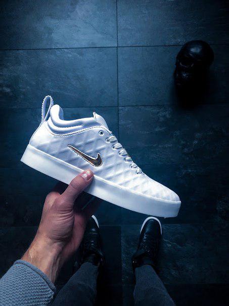 "Мужские кроссовки Nike Tiempo Vetta 17 ""Ivory"" белые топ реплика"