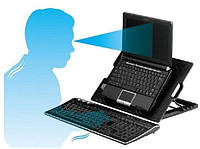 Подставка для ноутбука Notebook Cooler Pad N182 Черная