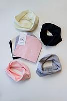 Детская шапка с шарфом-хомутом