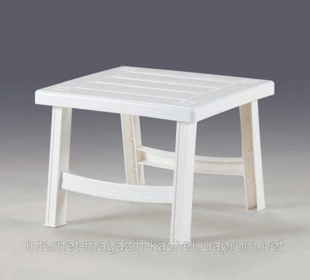 Пластиковый столик BERMUDA белый