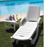 Пластиковый столик BERMUDA белый, фото 2