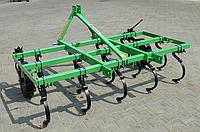 Культиватор сплошной обработки Agromech-1.5 м (9 лап, 3 ряда) (без катка, без вала, Польша)
