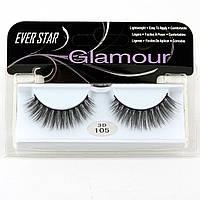 Накладные ресницы Glamour 105