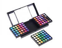 Профессиональная палитра теней для макияжа 180 цветов. P180 (тени матовые, с перламутром, мраморные)