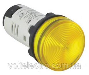 XB7EV05BP Сигнальная лампа 22 мм 24В желтая Schneider Electric