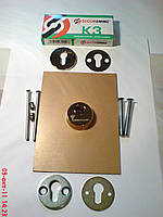 Установка бронепластин скрытого монтажа на металлические двери