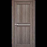 Межкомнатная дверь MILANO Дуб грей (стекло сатин)