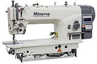 Minerva M6160JE4-H прямострочная машина з игольным транспортом і прямим приводом