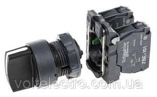 XB5AD33  Переключатель 1-0-2 с фиксацией Schneider Electric