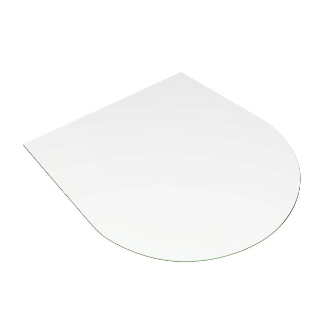 Стеклянная подставка для печи или камина 8мм