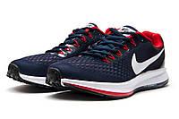 Кроссовки мужские Nike Zoom Pegasus 34, темно-синие (12592) размеры в наличии ► [  44 (последняя пара)  ]