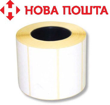 Термоэтикетка ЭКО 101х101х500 (для Новой Почты)
