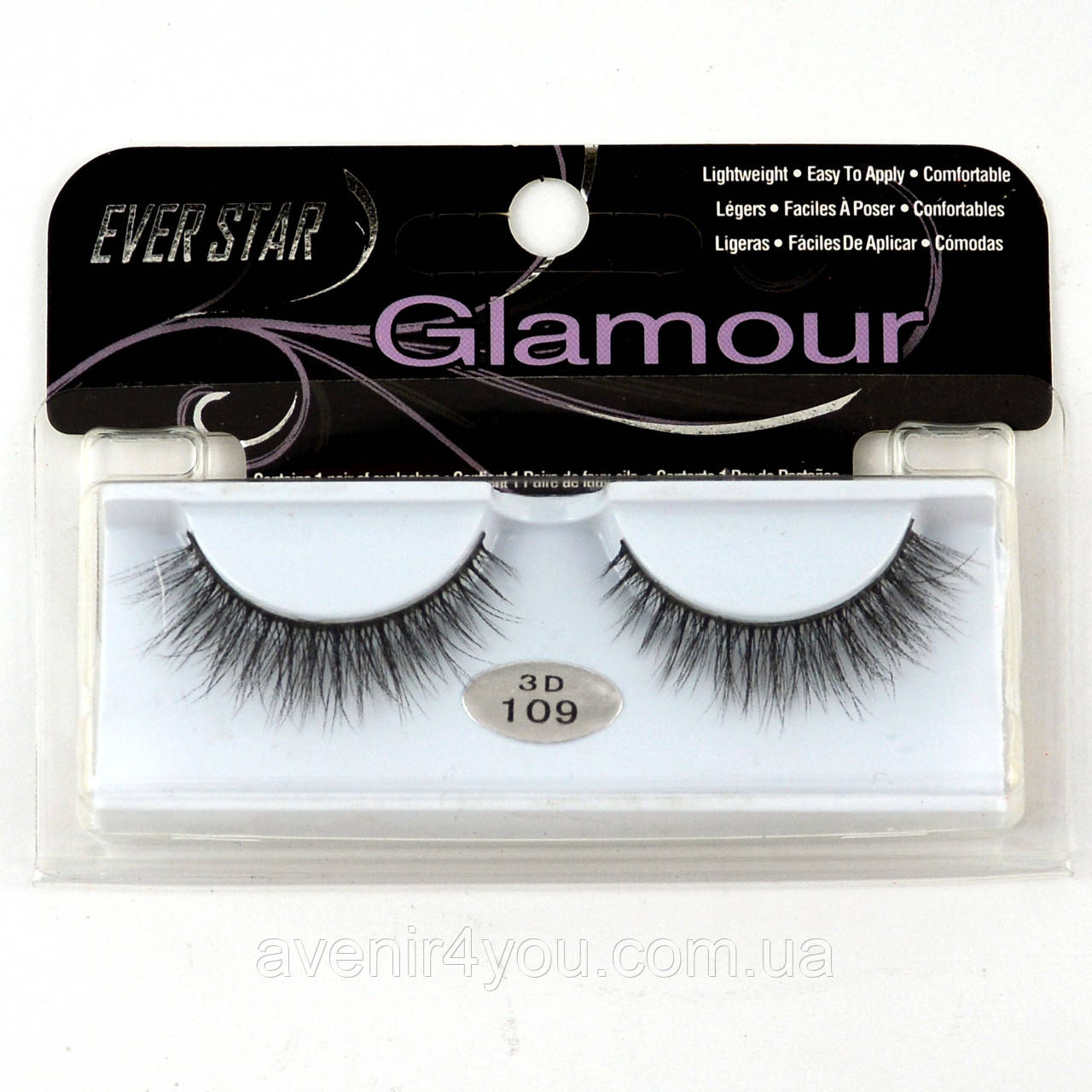 Накладные ресницы Glamour 109