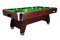 Бильярдный стол VIP Extra 8FT cherry-green с каменной плитой