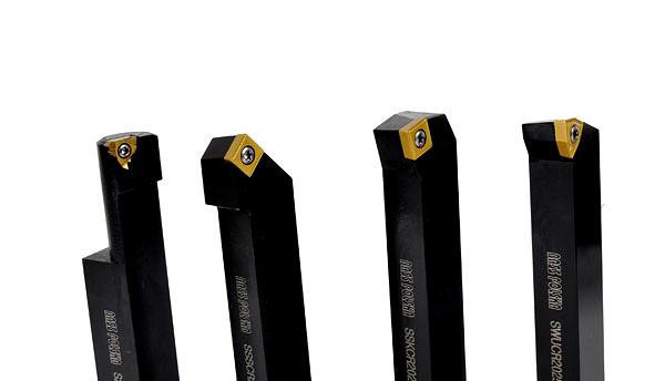 Ножи токарские 25мм, с плиткой, набор 9 шт.