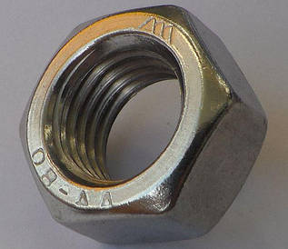 Гайка из нержавейки М1,6 | DIN 934, ISO 4032| A4