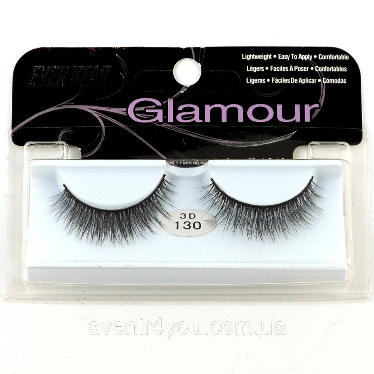 Накладні вії Glamour 130